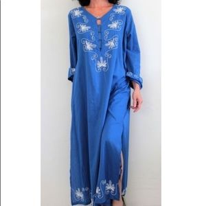 Soft Surroundings Buggle beaded Caftan